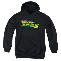 Back To The Future Iii - Youth Logo Pullover Hoodie