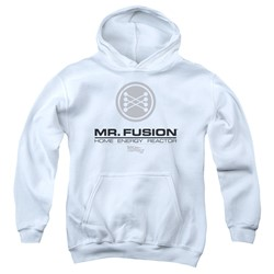 Back To The Future Ii - Youth Mr. Fusion Logo Pullover Hoodie