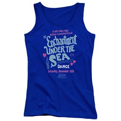 Back To The Future - Juniors Under The Sea Tank Top