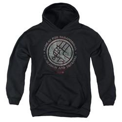 Hellboy Ii - Youth Bprd Stone Pullover Hoodie