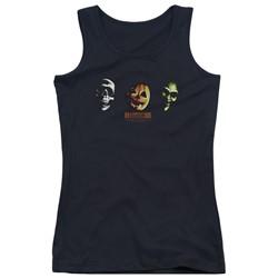 Halloween Iii - Juniors Three Masks Tank Top