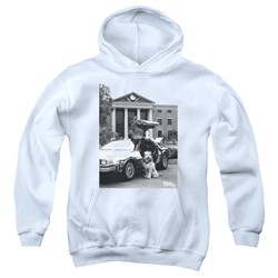 Back To The Future Ii - Youth Einstein Pullover Hoodie