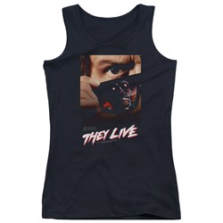 They Live - Juniors Poster Tank Top