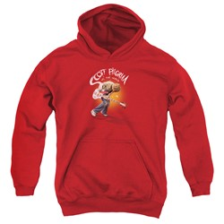 Scott Pilgrim - Youth Scott Poster Pullover Hoodie