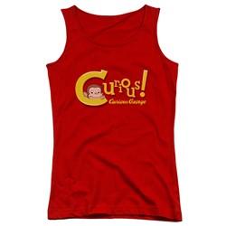 Curious George - Juniors Curious Tank Top