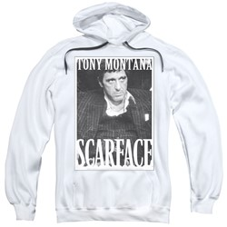 Scarface - Mens Business Face Pullover Hoodie