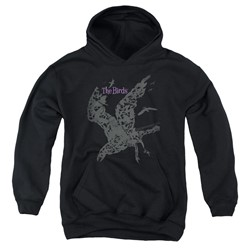 The Birds - Youth Poster Pullover Hoodie