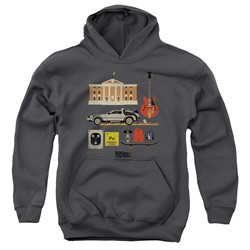 Back To The Future - Youth Items Pullover Hoodie