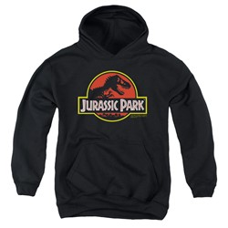 Jurassic Park - Youth Classic Logo Pullover Hoodie