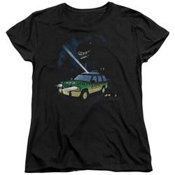Jurassic Park - Womens Turn It Off T-Shirt