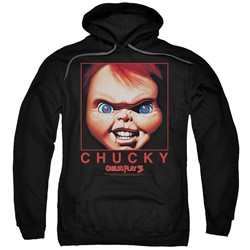Child's Play - Mens Chucky Squared Pullover Hoodie