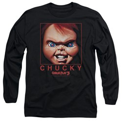 Child's Play - Mens Chucky Squared Long Sleeve T-Shirt