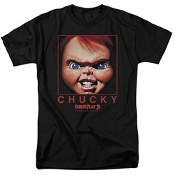 Child's Play - Mens Chucky Squared T-Shirt