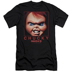 Child's Play - Mens Chucky Squared Slim Fit T-Shirt