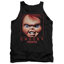Child's Play - Mens Chucky Squared Tank Top