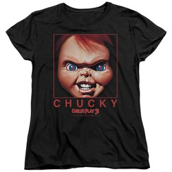 Child's Play - Womens Chucky Squared T-Shirt