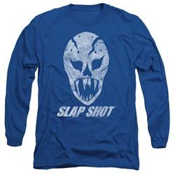 Slap Shot - Mens The Mask Long Sleeve T-Shirt