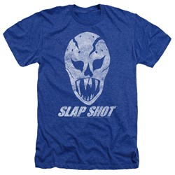 Slap Shot - Mens The Mask Heather T-Shirt