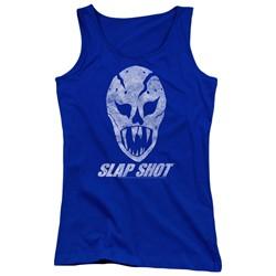 Slap Shot - Juniors The Mask Tank Top