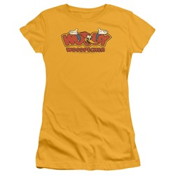 Woody Woodpecker - Womens In Logo T-Shirt