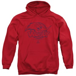 Woody Woodpecker - Mens Big Head Pullover Hoodie