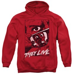 They Live - Mens Graphic Poster Pullover Hoodie