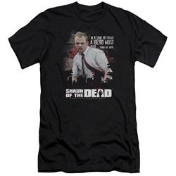 Shaun Of The Dead - Mens Hero Must Rise Slim Fit T-Shirt