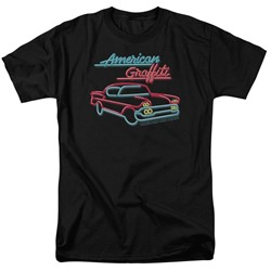 American Grafitti - Mens Neon T-Shirt