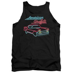 American Grafitti - Mens Neon Tank Top