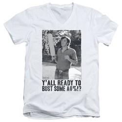 Dazed And Confused - Mens Paddle V-Neck T-Shirt