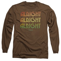 Dazed And Confused - Mens Alright Z Long Sleeve T-Shirt