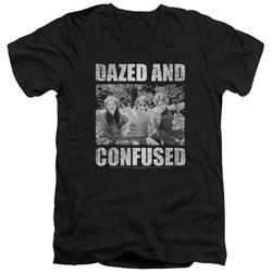 Dazed And Confused - Mens Rock On V-Neck T-Shirt