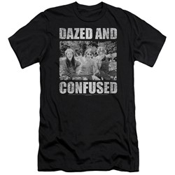 Dazed And Confused - Mens Rock On Slim Fit T-Shirt