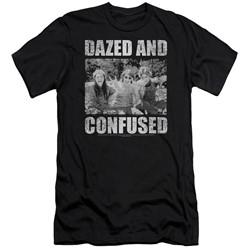 Dazed And Confused - Mens Rock On Slim Fit T-Shirt