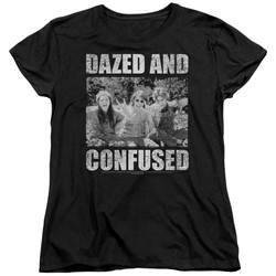 Dazed And Confused - Womens Rock On T-Shirt