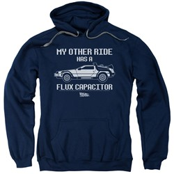 Back To The Future - Mens Other Ride Pullover Hoodie