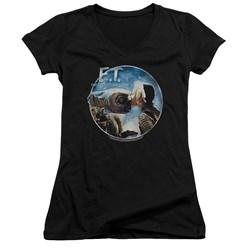 Et - Womens Gertie Kisses V-Neck T-Shirt