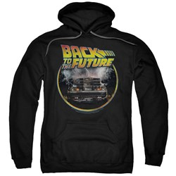 Back To The Future - Mens Back Pullover Hoodie