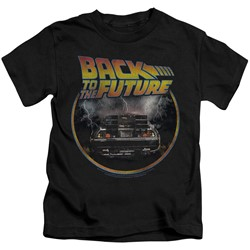 Back To The Future - Little Boys Back T-Shirt