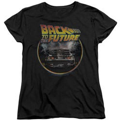 Back To The Future - Womens Back T-Shirt