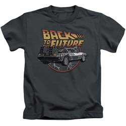Back To The Future - Little Boys Time Machine T-Shirt