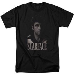 Scarface - Mens B&W Tony T-Shirt