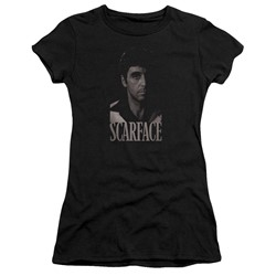 Scarface - Womens B&W Tony T-Shirt