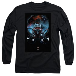 Divinity - Mens Cover Front / Back Print Long Sleeve T-Shirt