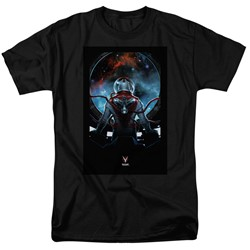 Divinity - Mens Cover Front / Back Print T-Shirt