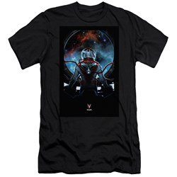 Divinity - Mens Cover Front / Back Print Slim Fit T-Shirt