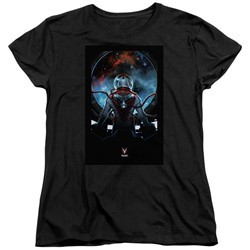 Divinity - Womens Cover Front / Back Print T-Shirt