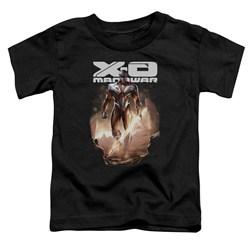 Xo Manowar - Toddlers Lightning Sword T-Shirt