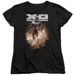 Xo Manowar - Womens Lightning Sword T-Shirt