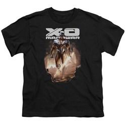 Xo Manowar - Big Boys Lightning Sword T-Shirt